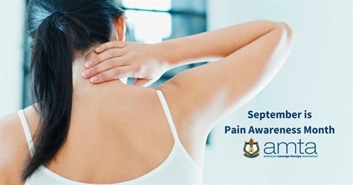 September is Pain Awareness Month: Consider the health benefits of massage in pain management