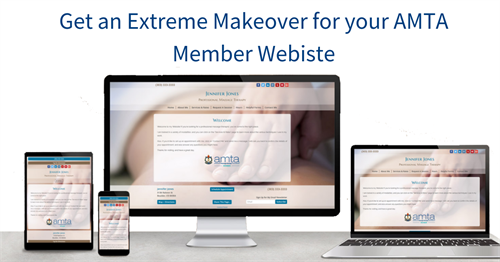 Get an Extreme Makeover for your AMTA member Website