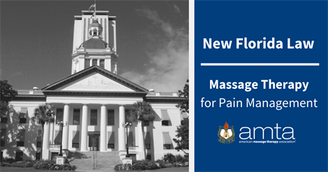 New Florida Law on Massage Therapy for Pain